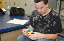 Rubik's cube competition tomorrow
