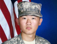 Randy Bae completed basic combat training in August. Photo Credit: Randy Bae