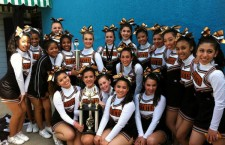 SWCTA's cheerleaders went to Knott's Berry Farm to compete against eight other teams. They won first place in their division.Photo Credit: Ms. Cindi Chang