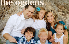 Mr. Jared Ogden, art teacher, balances his life with school, sports, and his family, and shares his story with his loving wife and children of 5 on his family blog.Courtesy of Mr. Jared Ogden