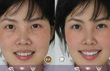 Perfect365 is a high tech editing tool that not only fix's your skin and whitens your smile, but has the power to give you an entire makeover.  Grade: A  Photo Courtesy of ArcSoft Inc.