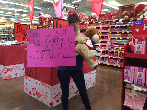Would negate the fact that someone would be asking for a date to sadie
