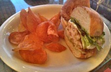 The roasted chicken sandwich ($12.40) had a sweet savory sauce that lingered in the mouth after tasting. While slightly overpowering, the flavorful chicken still made for a filling dish. Photo Credit: Althea Gevero