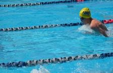 Freshman Haris Kurtagic swims for Sierra Vista High School and has already broken a school record.  Photo Credit: Haris Kurtagic