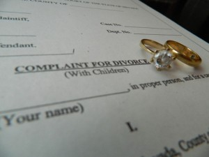 After a vow of a life-long commitment, it is extremely difficult to watch your parents fill out divorce papers.<br />Photo Credit: Alex Nedelcu