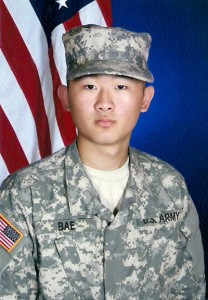 Randy Bae completed basic combat training in August. <br />Photo Credit: Randy Bae