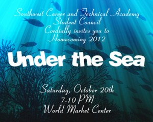 """The 2012-2013 theme for SWCTA's first homecoming is """"Under the Sea.""""<br />Photo Credit: Kelly Johnson"""