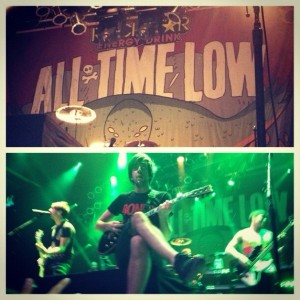 All Time Low performed live on Nov. 3, 2012 at the House of Blues in Las Vegas, Nevada.<br />Photo Credit: Michelle Manuel