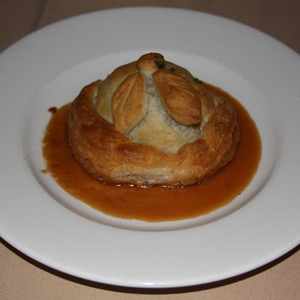 The Beef Wellington is just one of the many delicious entrees that The Carmel Room offers.<br>Photo Credit: Allison Ho