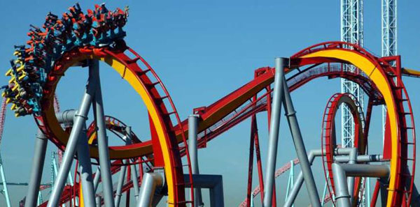 The Silver Bullet is one of the many rides that are available at Knott's Berry Farm.<br>Courtesy of Knott's Berry Farm
