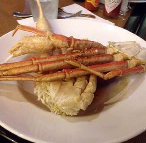 """'Tides' offers endless crab legs for their special """"All You Can Eat"""" dinner for $29.95.<br>Photo Credit: RJ Reyes"""