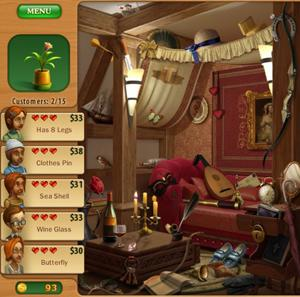 Gardenscapes: Mansion Makeover HD gives players the opportunity to complete I-Spy puzzles and gather coins to buy more furniture and decor for a dilapidated mansion. The main objective of the game is to get the mansions hall decorated before the house guest arrive for a party.<br>Rating: B-<br>Courtesy of Playrix
