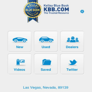 The KBB app allows you to choose any car model and helps you get the best pricing possible, making your first car search easy and accessible.  Photo Credit: Sahar Kanfi