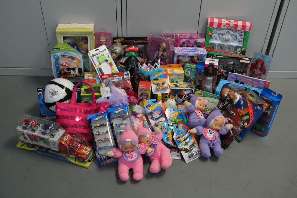 Currently, the hospitality seniors have collected a total of about 53 toys and $42 to donate to Toys for Tots, a US Marine Corps based foundation.  Photo Credit: Jen Chiang