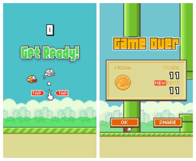 Flappy Bird is a new game that has been sweeping the school, as students compare high scores, and work the game into their daily conversations.  Grade: A  Photo Courtesy of GEARS Studios