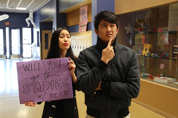 Being asked to Sadie's is a wish no guy will publicize, but when it happens, there's no doubt that the guy will feel some sort of happiness.Photo Credit: RJ Reyes