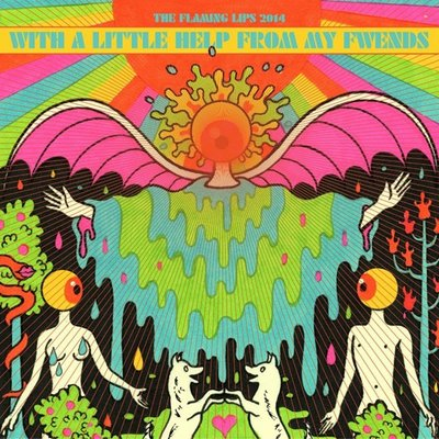 """Famous for their psychedelic and mystic sound, the Flaming Lips repaints the Beatles' legacy with their version of """"Sgt. Pepper's Lonely Hearts Club."""" Similar Artists: The Beatles, Pink Floyd, Jefferson Airplane Grade: A Photo Courtesy of American Song Writer"""