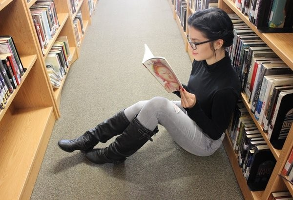 Although some do not enjoy reading, I consider myself to develop a passion, and therefore a talent for reading.  Photo Credit: Jen Chiang