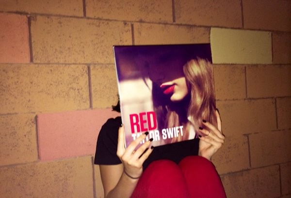 Taylor Swift's album, Red, constitutes as my favorite album ever released by the artist.  Photo Credit: Matthew Nedelcu
