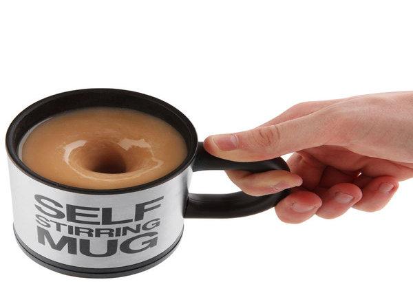 Self-Stirring Mug