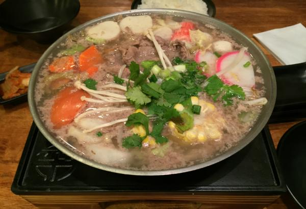 Rib Eye Beef Pot