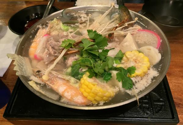 Seafood & Tofu Pot
