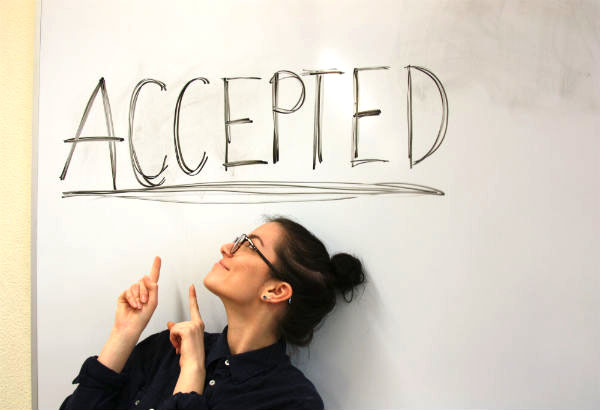 I embrace my acceptance with open arms and I know that my college experience will not be based upon the acceptance rate of my school.   Photo Credit: Danijel Zekanovic