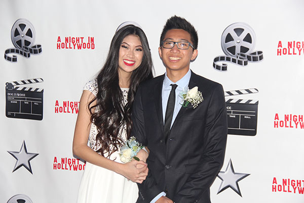 Kimberly Yiv and Brian Ung