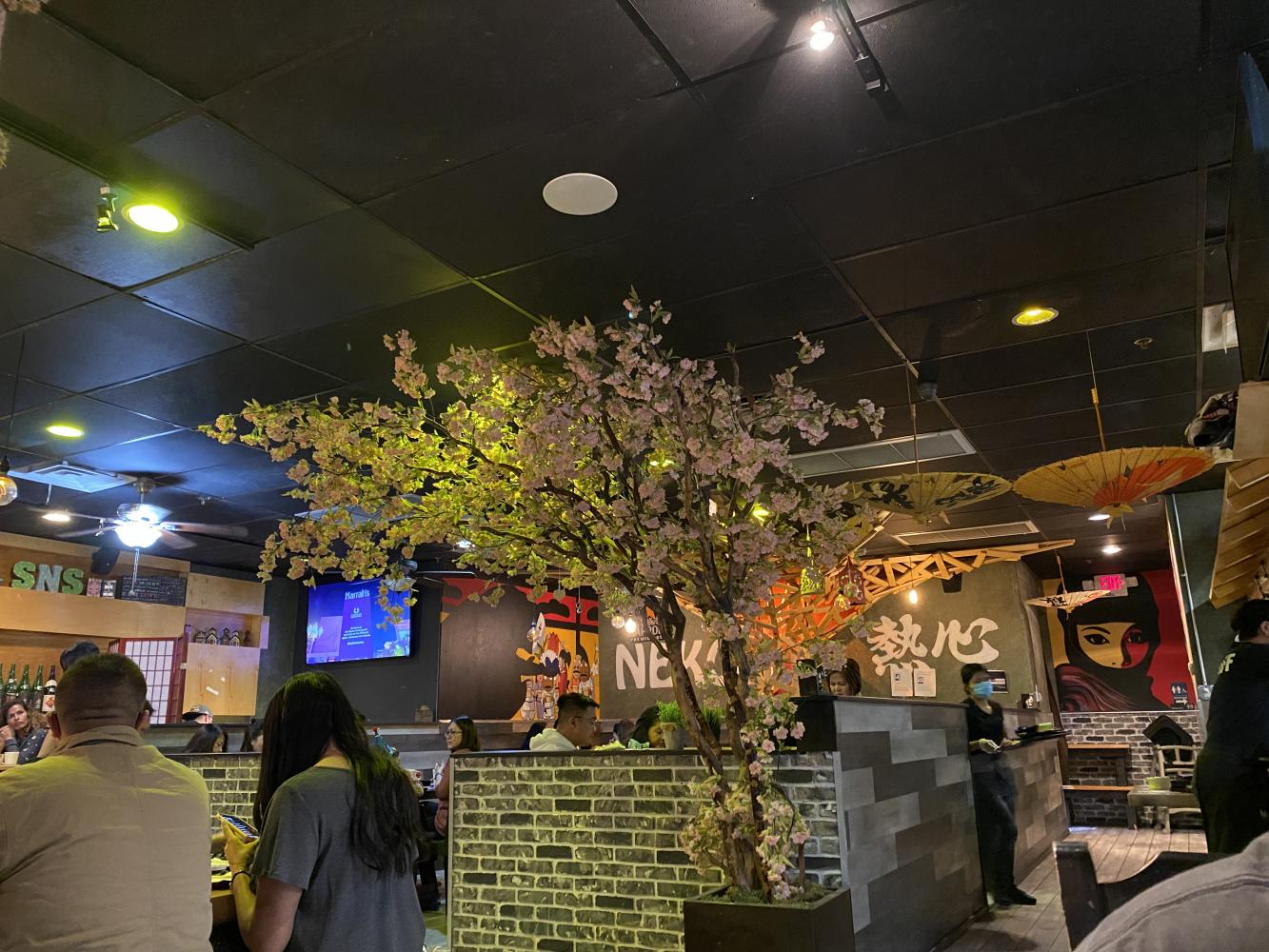 "Interior of ""Sushi Neko"""