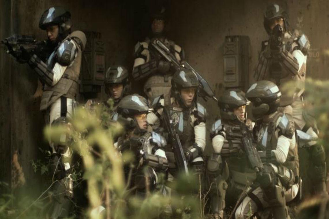 Forward Unto Dawn was a video webseries to help promote the release of Halo 4. Photo Credit: Halo Waypoint
