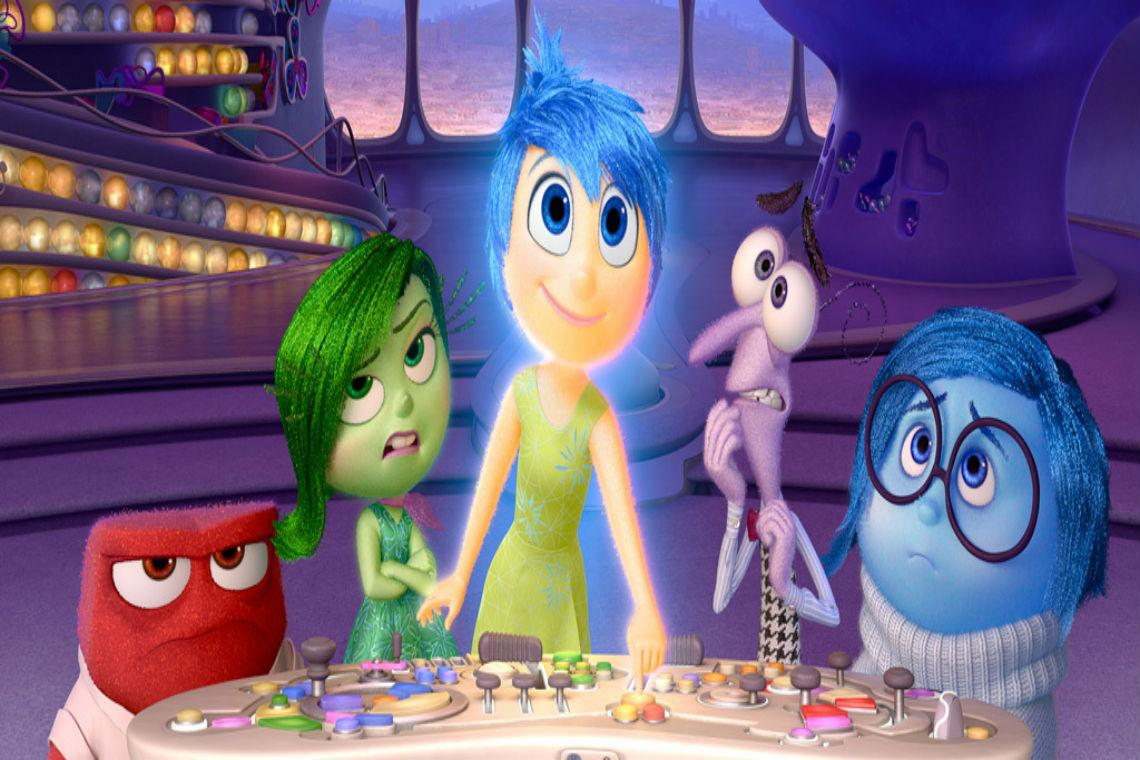 """""""Inside Out"""" became a blockbuster feature film, and helped bring the majority of Disney's profit's in 2015. Photo Credit: Disney"""