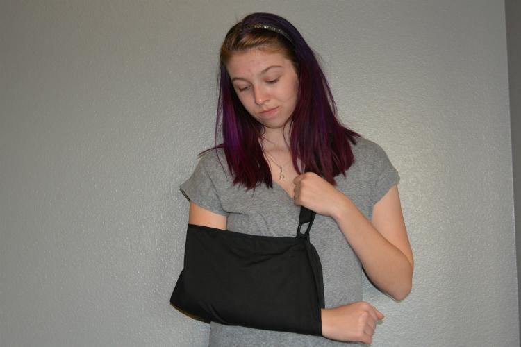 fake an injury