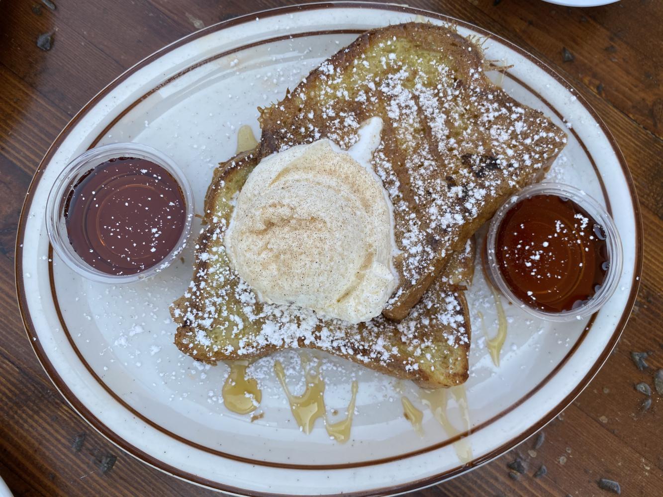 Honey French Toast ($8.50)